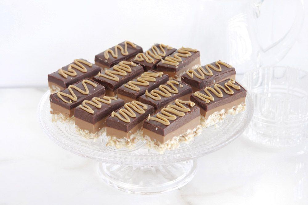 חטיף שוקולד וחמאת בוטנים | צילום: נטלי לוין