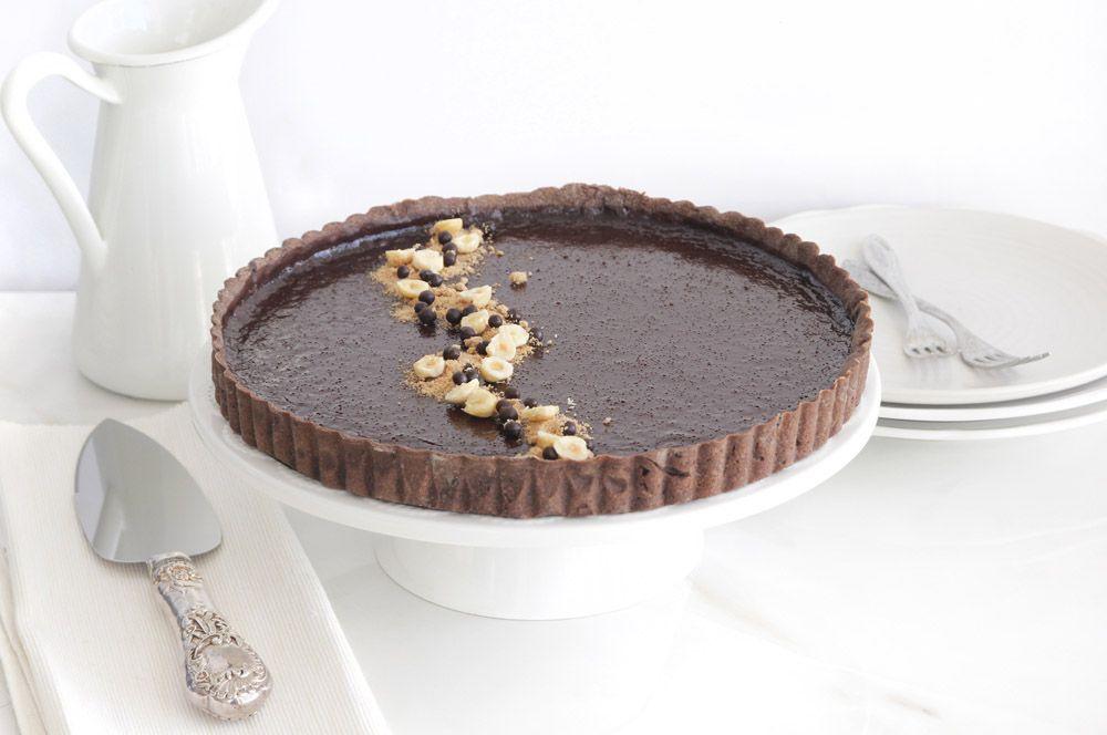 טארט שוקולד ופרלינה