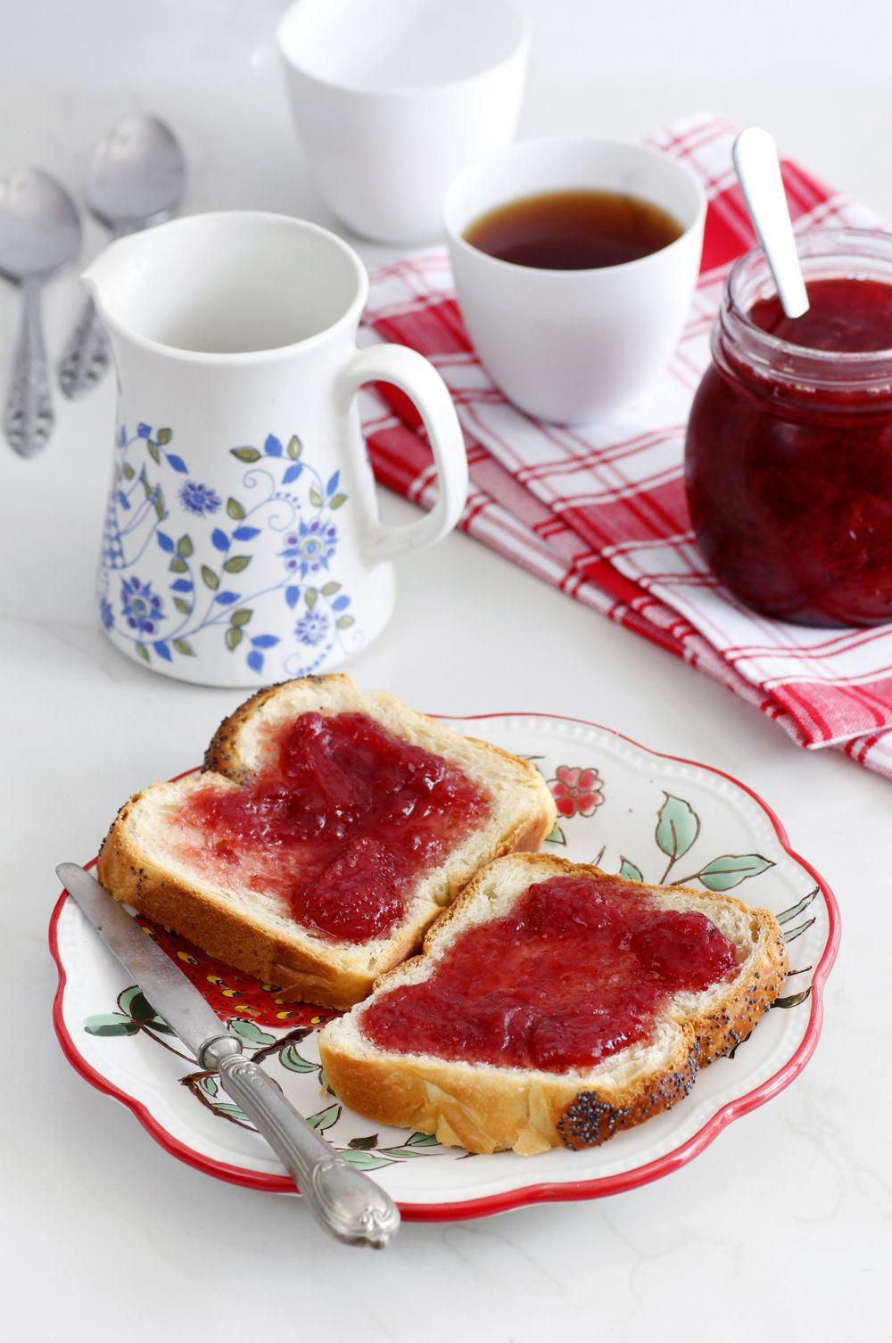 ריבת תותים ביתית