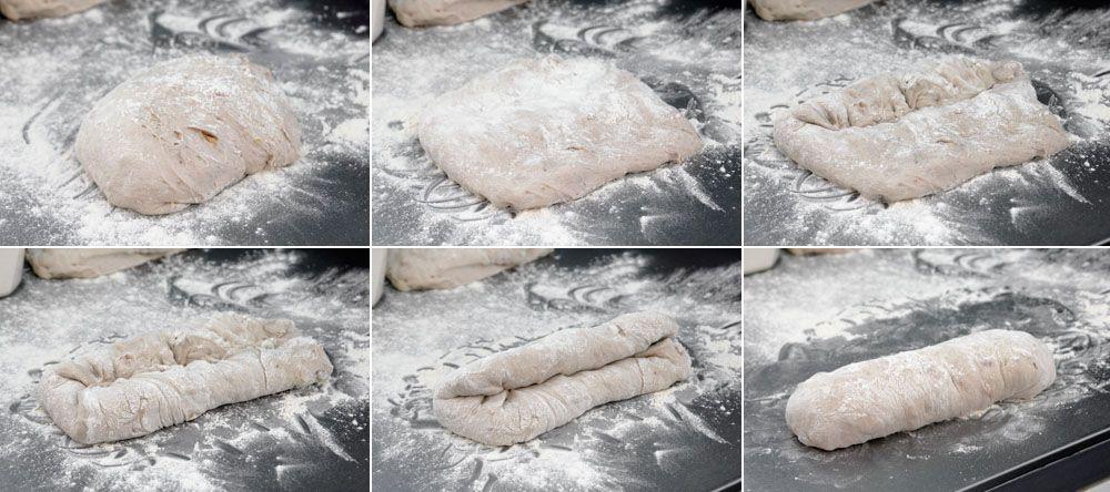 לחם לבן עם אגוזי מלך (לחצו להגדלה)