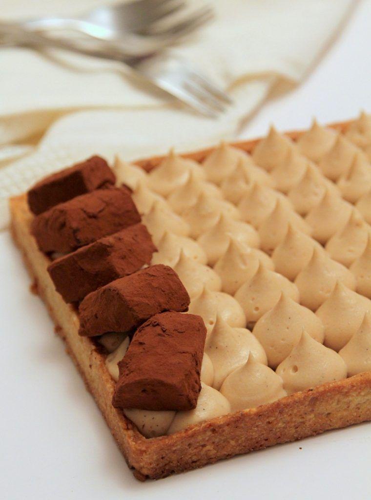 פאי גנאש שוקולד עם קרם פטיסייר פרלינה