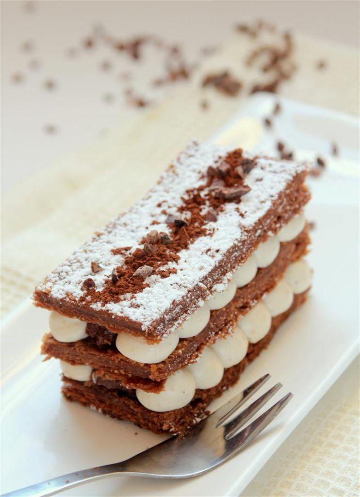 איך מכינים בצק עלים + מילפיי שוקולד וערמונים