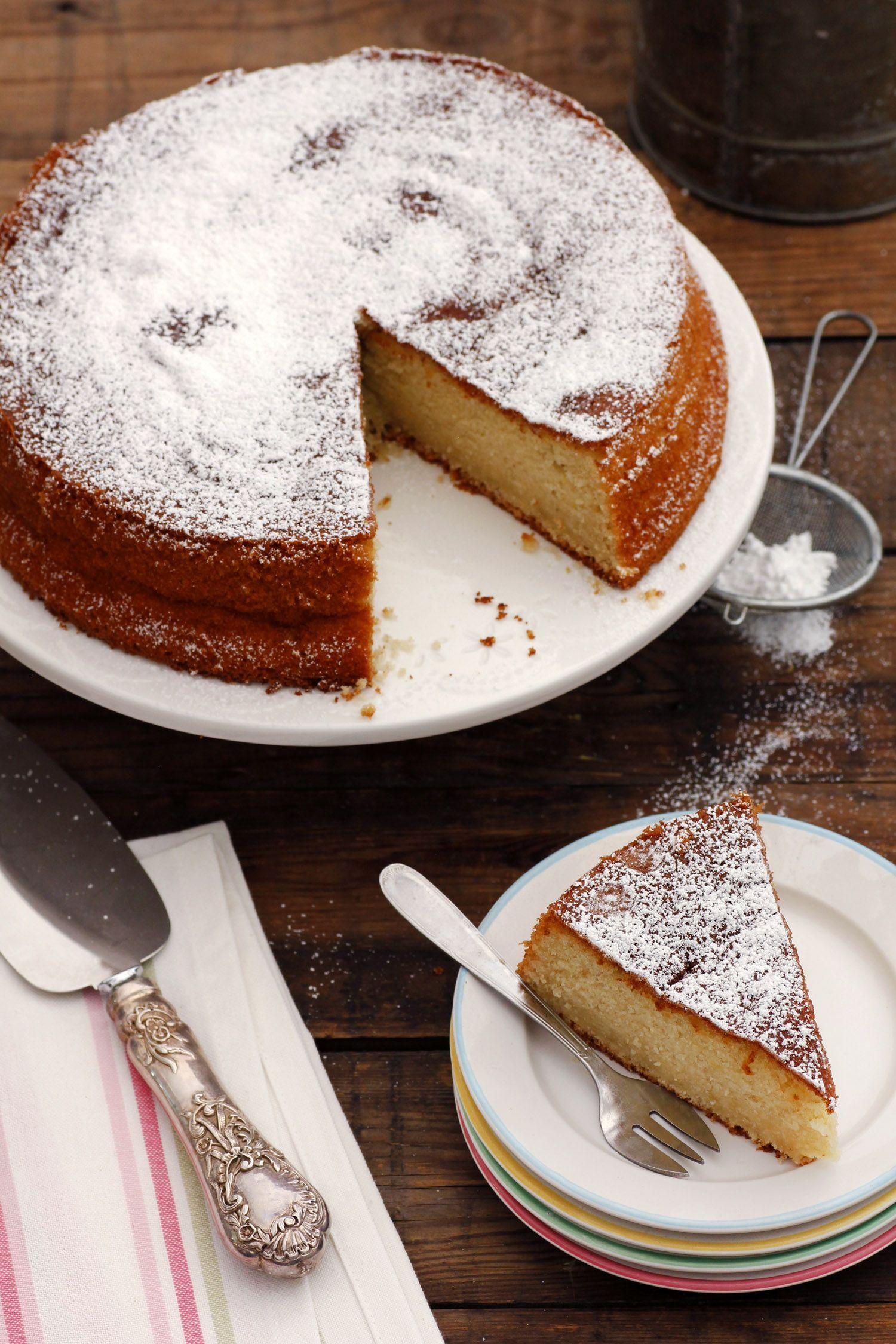 עוגת תפוזים ושקדים