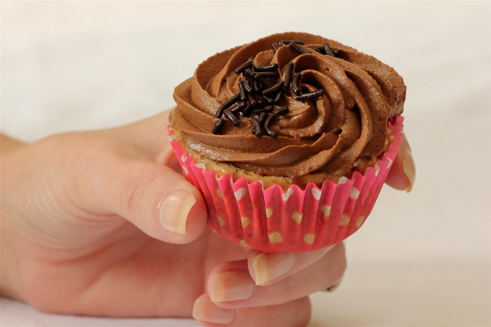 Chestnut Cupcakes with Coffee Chocolate Cream