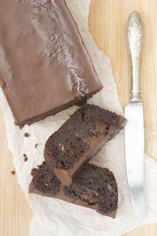 עוגת שוקולד ובננות טבעונית