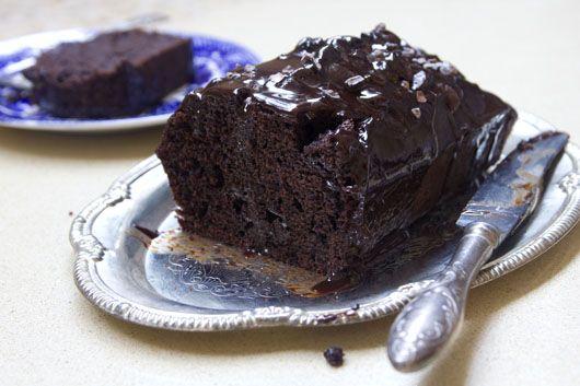 עוגת שוקולד מקסיקנית עם ציפוי מבריק-מבריק