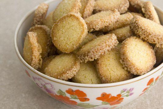 עוגיות תפוז ווניל