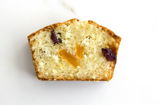 Coconut Cake with Dried Apricot and Cranberries