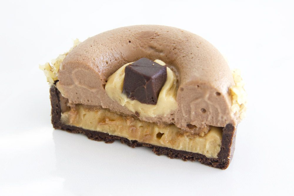 Peanut Butter Chocolate Tartelettes