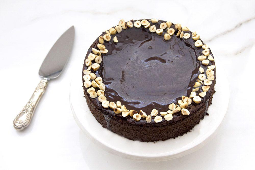 Gluten Free Hazelnut Coffee Cake