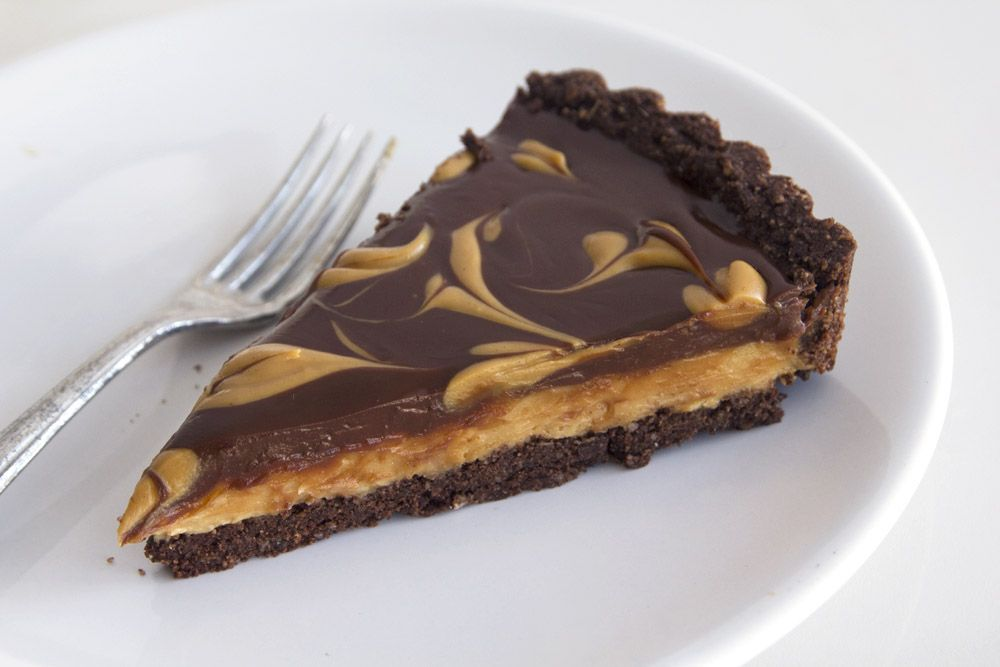 Peanut Butter Chocolate Pie for Passover
