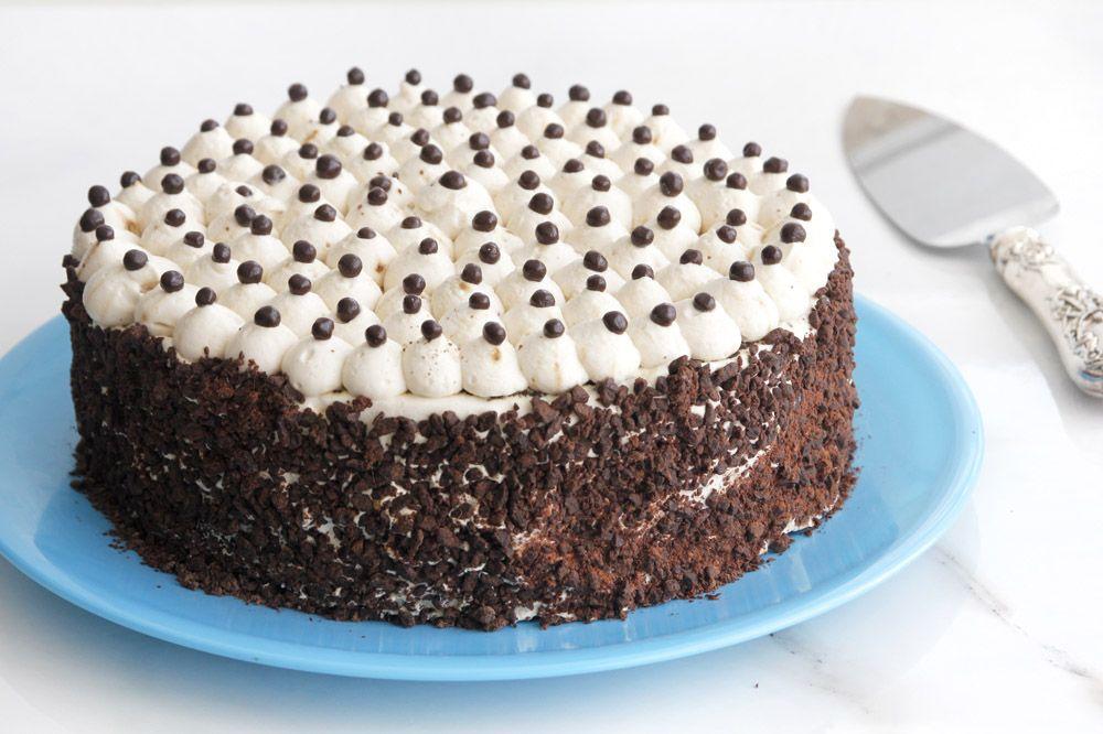 עוגת שוקולד עם קפה ונוגט