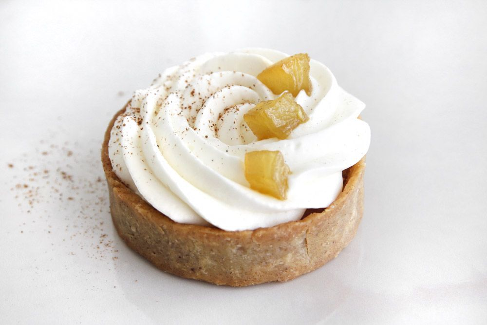 Mini Pecan Apple Tart with Honey and Spice