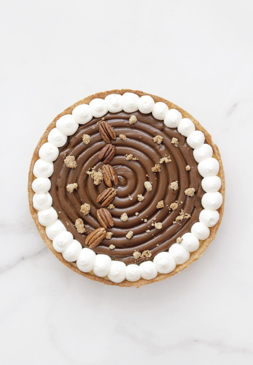 Cream Cheese Tart with Dulce de Leche