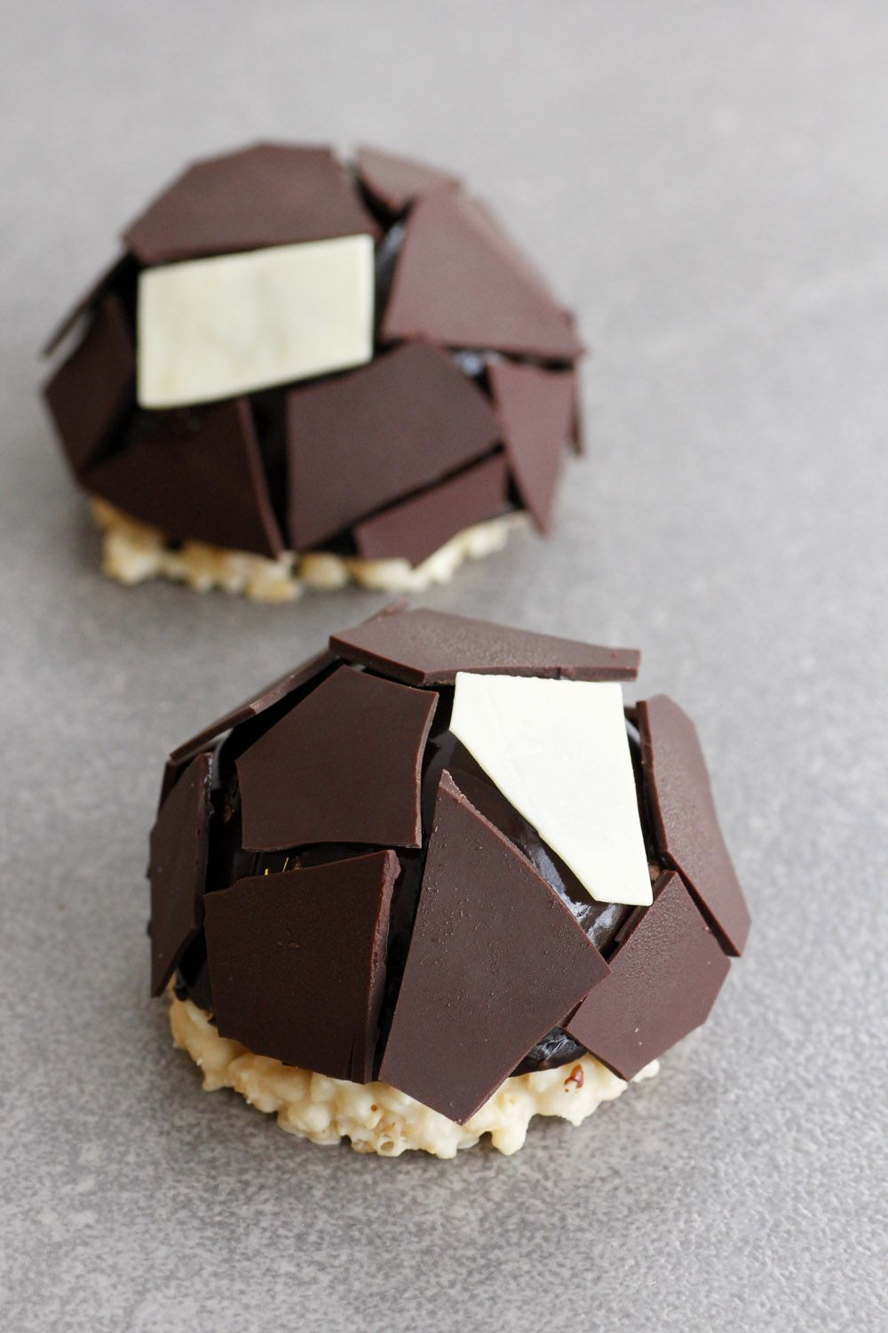 Plenitude – Salted Caramel Chocolate Mousse Domes