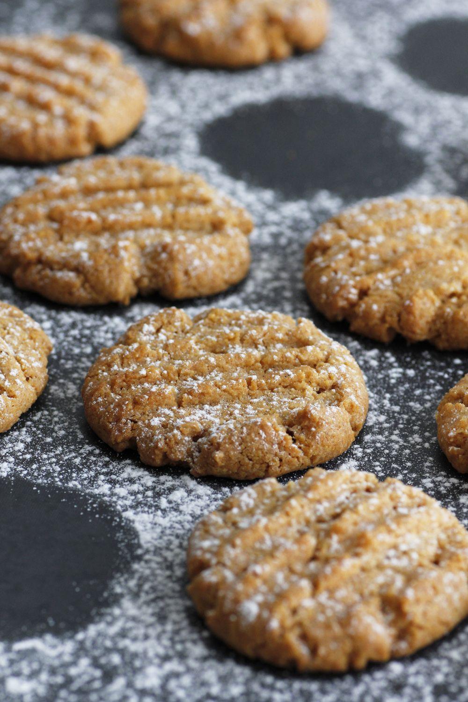 Cornmeal Peanut Butter Cookies
