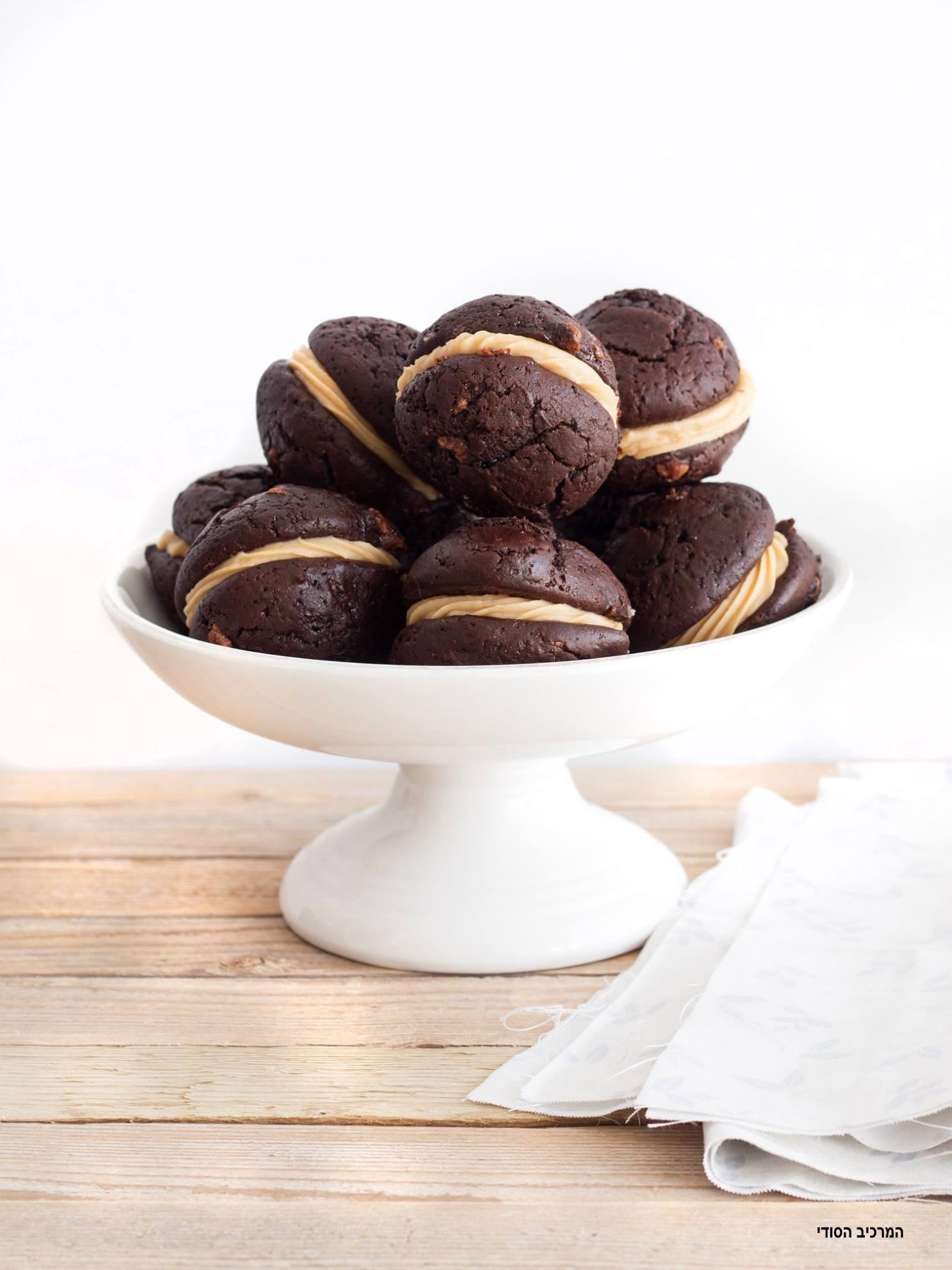 וופי פאי שוקולד וחמאת בוטנים