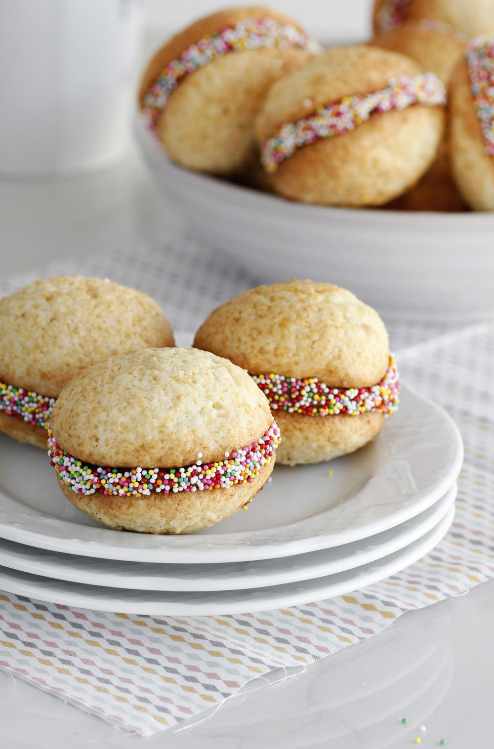 Chocolate and Coconut Whoopy Pie