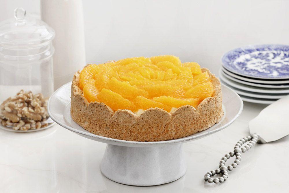 פאי תפוזים ואגוזי לוז ללא קמח