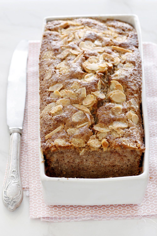 עוגת אגוזים וקינמון עם דבש