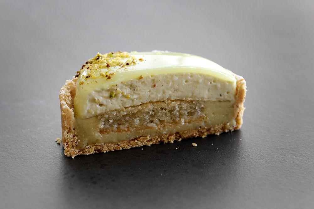 Infinite pistachio tartelette