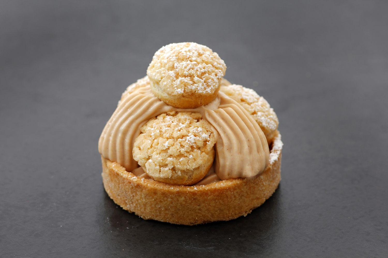 טארט אגוזי לוז וקרמל